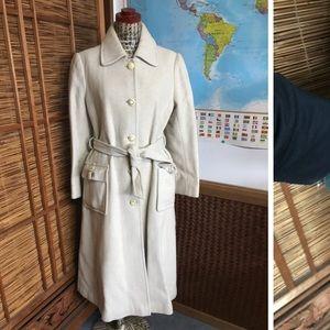 Vintage Oscar De la Venta wool coat